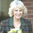 The Duchess of Cornwall smiles as she visits Wiltshire; 09-02-2016