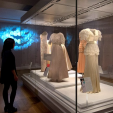 An exhibition of royal dresses begins on February 11 at Kensington Palace