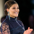 Crown Princess Victoria at the Global Change Awards; 10-02-2016