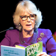 The Duchess of Cornwall reads Roald Dahl at an exhibition on the author; 16-02-2016