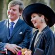 King Willem-Alexander and Queen Maxima in West-Brabant; 16-02-2016