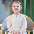 Princess Estelle at four