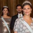 Sweden's pregnant Princesses - Sofia and Victoria - attend the first representation dinner of the year; 03-02-2016