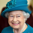 Queen Elizabeth during her visit to the Tapping House hospice; 04-02-2016