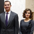 King Felipe VI and Queen Letizia at the exhibition; 04-03-2016