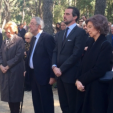The memorial service at Tatoi for King Paul and Queen Frederika