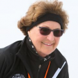 Princess Margriet skates for cancer research