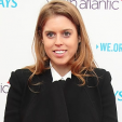 Princess Beatrice at the WE Day concert in Wembley