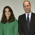 The Duke and Duchess of Cambridge during their mental health-focused day