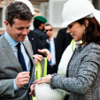 Crown Prince Frederik and Crown Princess Mary in Saudi Arabia; 01-03-2016