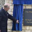 Prince Philip opens the Prince Philip Military Barracks