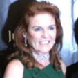 Sarah, Duchess of York during a gala in Mexico