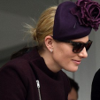 Zara Phillips on the first day of the Cheltenham Festival; 15-03-2016