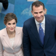King Felipe and Queen Letizia at the opening of the 7th International Congress on the Spanish Language in Puerto Rico; 15-03-2016