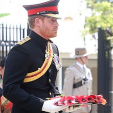 Prince Harry at a remembrance ceremony in Nepal