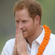 Prince Harry on his last official day in Nepal