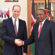 Prince William and the President of Kenya