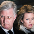 King Philippe and Queen Mathilde in the aftermath of the Brussels attacks