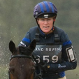 Zara Tindall competes in the Gatcombe Horse Trials