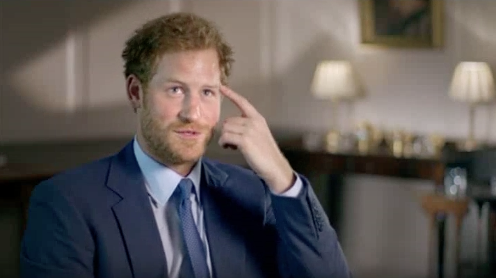 Prince Harry describing how it feels to meet the Queen, 'Our Queen at Ninety'