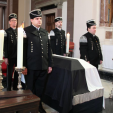 The Prince's coffin lies in the Hedinger Kirche