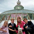 Princess Elisabeth, Prince Gabriel, Prince Emmanuel and Princess Eleonore of Belgium