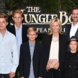 Pavlos, Marie-Chantal and their boys at the Jungle Book movie premiere in London