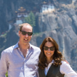 The Duke and Duchess of Cambridge on their hike in Bhutan