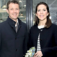 Crown Prince Frederik and Crown Princess Mary at the Danish swimming olympic qualifiers