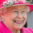 Queen Elizabeth the day before her 90th birthday