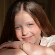 Princess Isabella of Denmark, aged 9