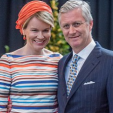 Queen Mathilde and King Philippe