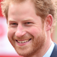 Prince Harry at the 2016 London Marathon