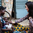 Crown Princess Mary in Burkina Faso