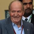 King Juan Carlos in Bahrain for the Formula 1 Grand Prix
