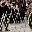 The Dutch King and Queen mark Remembrance Day