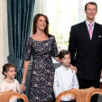 Prince Joachim, Princess Marie and their two children