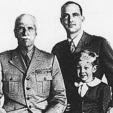 Victor Emmanuel III, Umberto II and Crown Prince Victor Emmanuel