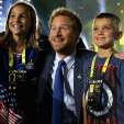 Prince Harry at the Invictus Games opening ceremony