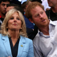 Prince Harry with Jill Biden at the Invictus Games