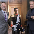 Crown Prince Frederik and Mario Testino