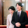 Prince and Princess Akishino in Italy