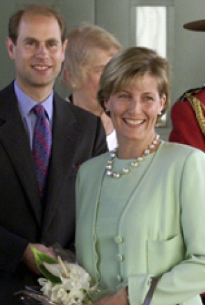 The Earl and Countess of Wessex during a visit to Canada in 2001 - View the full image at CBC News