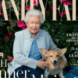 Queen Elizabeth on the cover of Vanity Fair