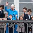 Queen Margrethe and her grandchildren