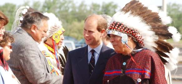 Prince Edward during a visit to Canada in 2013 - View the full image at The Vancouver News