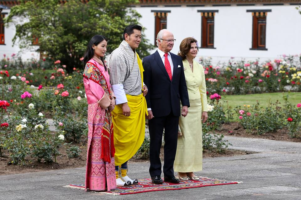 View the full image at the King of Bhutan's Facebook page
