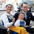 Crown Princess Victoria, Prince Daniel and Princess Estelle