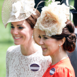 The Duchess of cambridge and Crown Princess Mary of Denmark