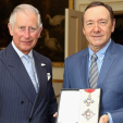Prince charles and Kevin Spacey